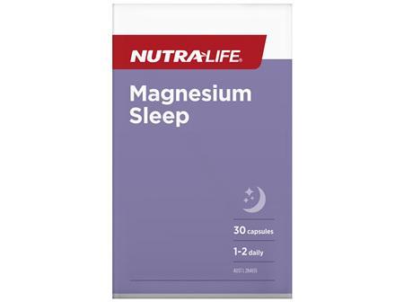 Nutra-Life Magnesium Sleep 30c