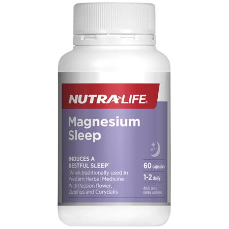 Nutra-Life Magnesium Sleep 60c