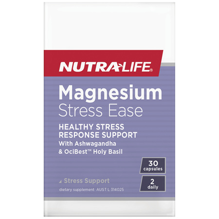 Nutra-Life Magnesium Stress Ease 30c