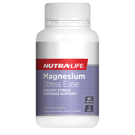 NUTRA-LIFE Magnesium Stress Ease 60Cap