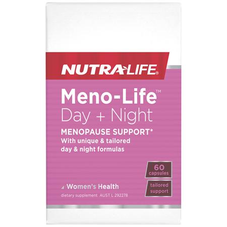 Nutra-Life Meno-Life™ Day + Night 60 capsules