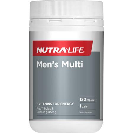 NUTRA-LIFE Mens Multi 120caps