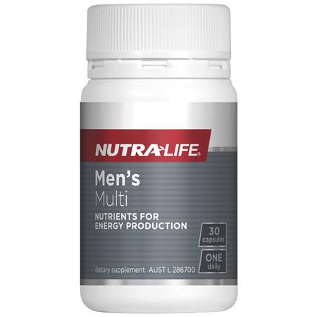 Nutra-Life Men's Multi 30 capsules