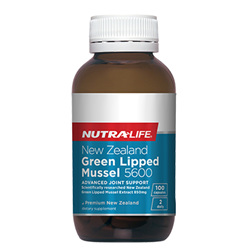 NUTRA-LIFE NZ Green Lipped Mussel 5600 100s