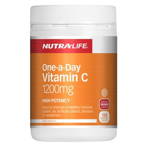 Nutra-Life One-a Day Vitamin C 1200mg Chewables 120