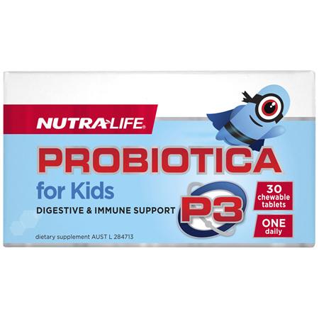 Nutra-Life Probiotica for Kids 30 chewable tablets