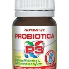 Nutra-Life  Probiotica P3 Caps 90