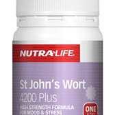 Nutra-Life St Johns Wort 4200mg Plus 30