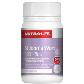 Nutra-Life St Johns Wort 4200mg Plus 60