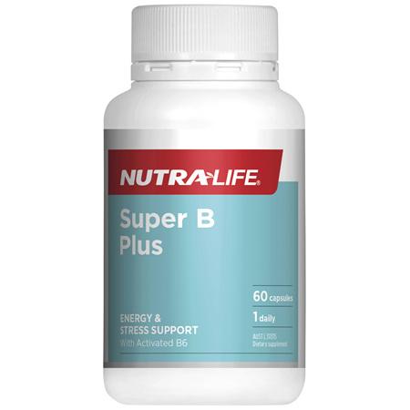 Nutra-Life Super B Plus 60c