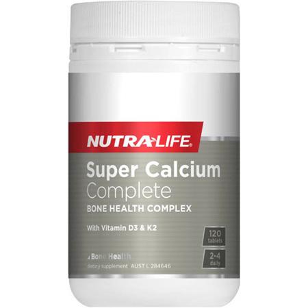 NUTRA-LIFE Super Calcium Complete 120tabs