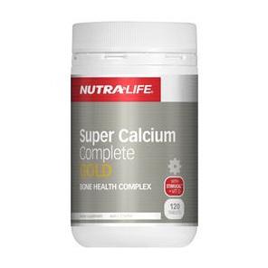 Nutra-Life Super Calcium Complete Gold 120s