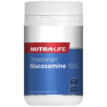 Nutra-Life Vegetarian Glucosamine 1500 90 tablets