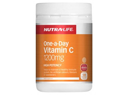 Nutra-Life Vitamin C 1200mg Chews 120