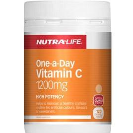 Nutra-Life Vitamin C 1200mg Chews 120