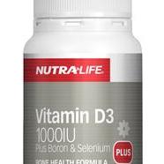 Nutra-Life Vitamin D3 1000iu Caps 60