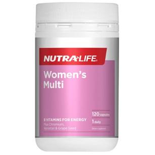 NUTRA-LIFE Womens Multi 120caps