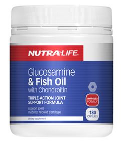 NutraLife Glucosamine & Fish Oil with Chondroitin 180 caps