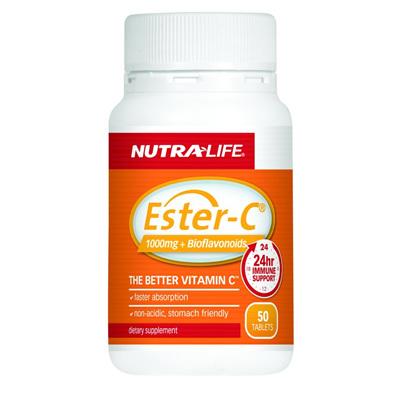 Nutralife Ester C + Bioflavanoids - 50 tablets