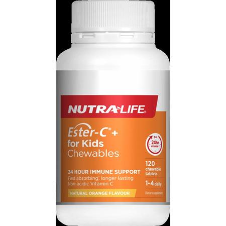 NutraLife Ester C for Kids 120 tabs