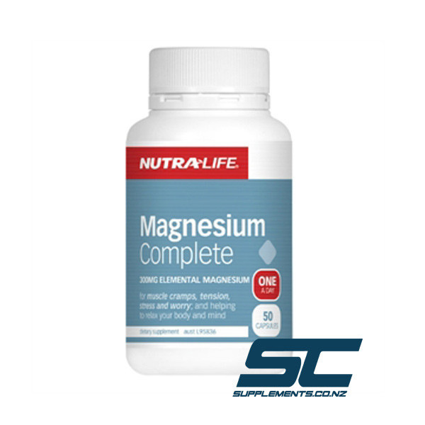 Nutralife Magnesium Complex - 50 tablets