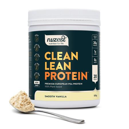 NUZEST Clean Lean Protein Vanilla 500g