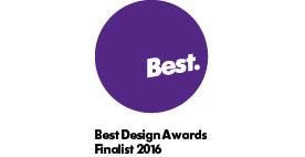 NZ Best Design Awards finalist 2016 designed objects