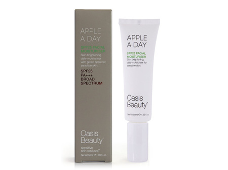 Oasis Apple a Day SPF 25 Brightening Moisturiser 50ml