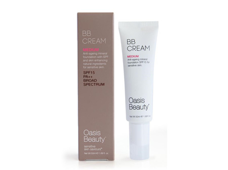 Oasis Bb Cream Medium Shade 50ml