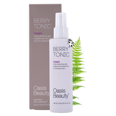 Oasis Berry Skin Brightening Facial Toner 150ml