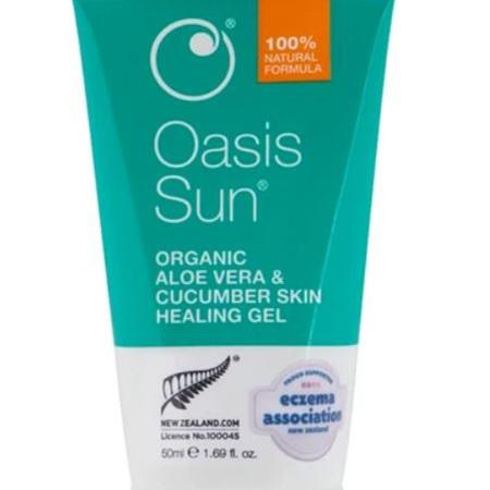 OASIS Organic Aloe Vera & Cucumber Gel 50ml