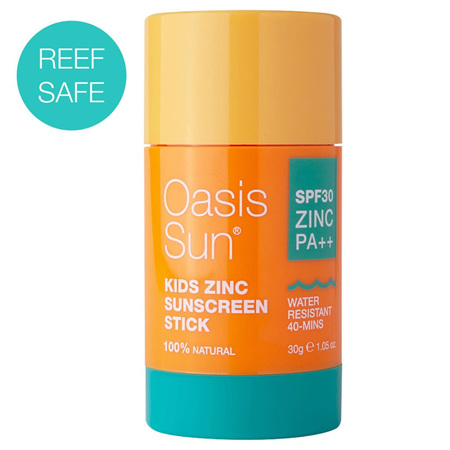 Oasis Sun Kids Zinc Sunscreen Stick SPF 30 30g