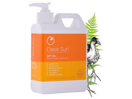 Oasis Sun Spf30 Jumbo Wpump 500Ml