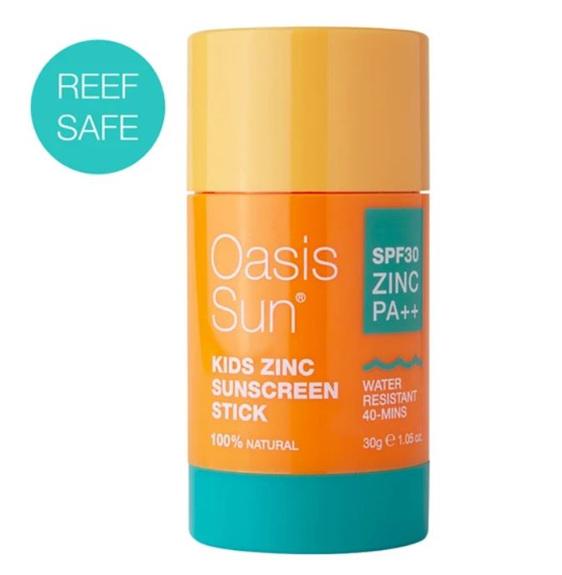 OASIS Sun SPF30 Kids Zinc Stick 30g