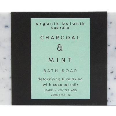 Ob 250gm Soap - Charcoal & Mint