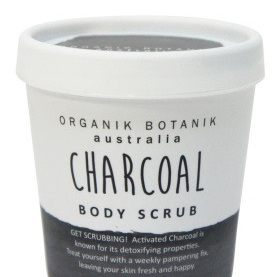 OB Charcoal Body Scrub - 200gm Tub