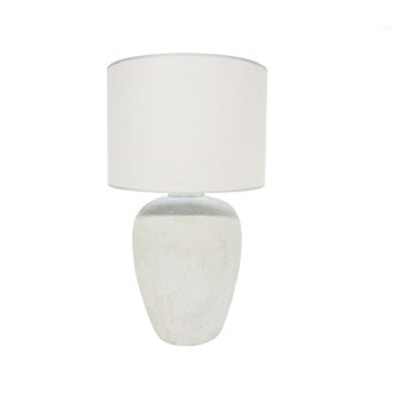Ode Ceramic Table Lamp - Off White/79cmh
