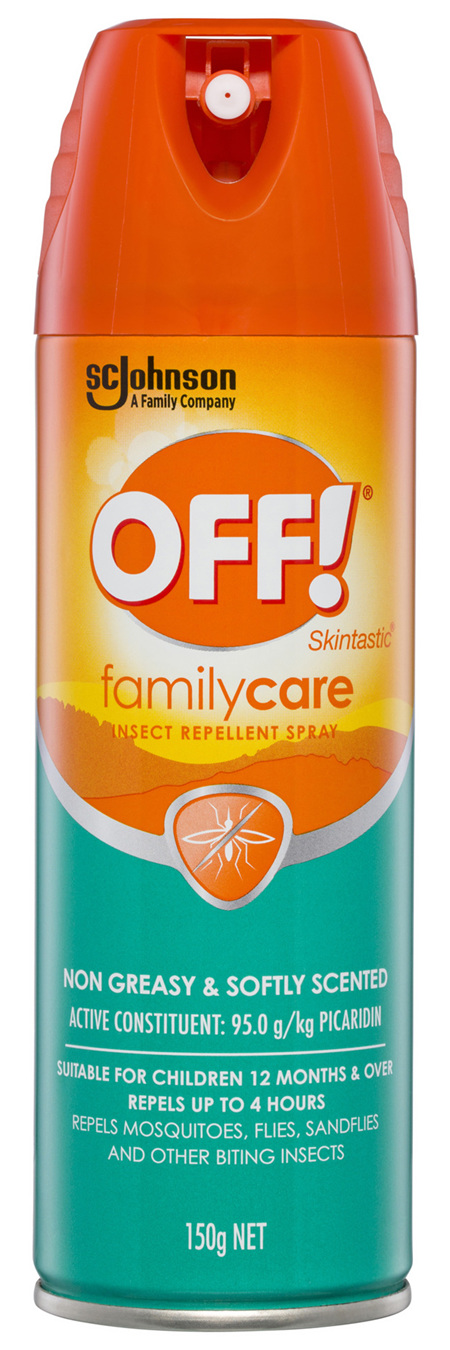Off! Skintastic FamilyCare Insect Repellent Spray 150g