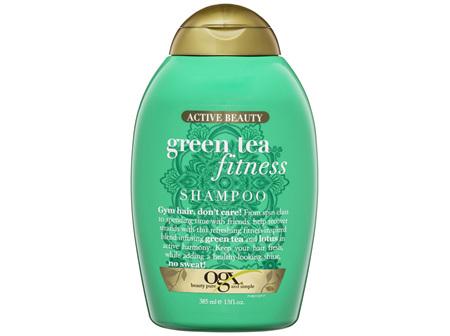 OGX Active Beauty Green Tea Fitness Shampoo 385mL