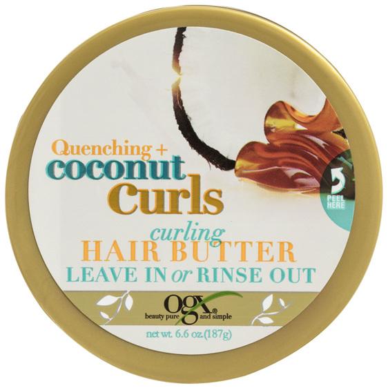 OGX Coconut Curls Curling Hair Butter 187g