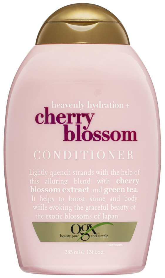 OGX Heavenly Hydration + Cherry Blossom Conditioner 385mL