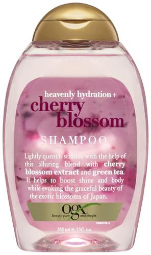 OGX Heavenly Hydration + Cherry Blossom Shampoo 385mL