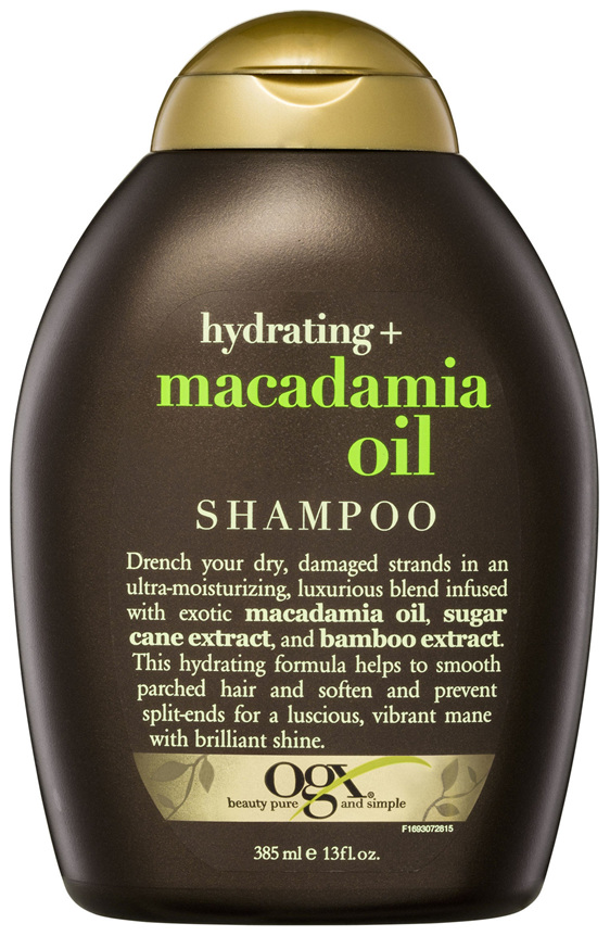 OGX Hydrating + Macadamia Oil Shampoo 385mL