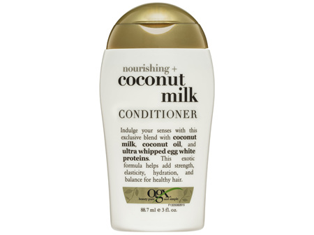 OGX Nourishing + Coconut Milk Conditioner Travel Size 88.7mL
