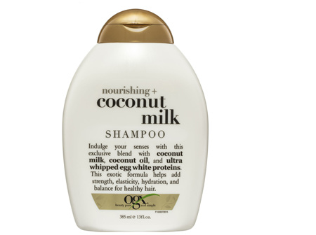 OGX Nourishing + Coconut Milk Shampoo 385mL