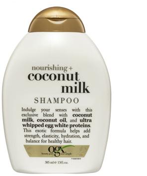 OGX Nourishing + Coconut Milk Shampoo 385mL