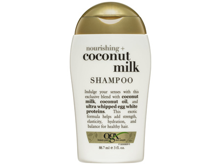 OGX Nourishing + Coconut Milk Shampoo Travel Size 88.7mL