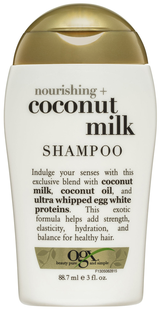 OGX Nourishing + Coconut Milk Shampoo Travel Size 88.7mL