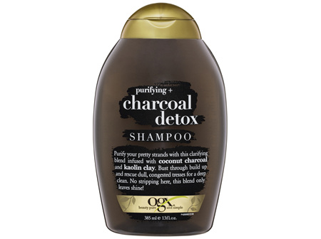 OGX Purifying Charcoal Detox Clarifying Shampoo 385mL