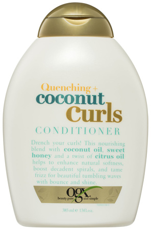 OGX Quenching + Coconut Curls Conditioner 385mL